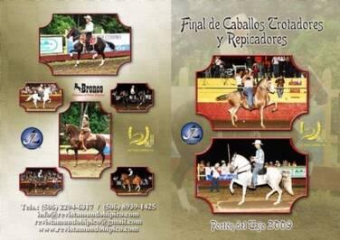 DVD Final del Campeonato Nacional de Trotadores Costa Rica 2009