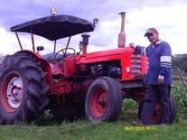 tractor volvo 350 reconstruido