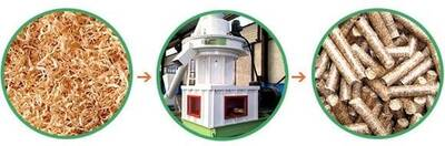 Pelletizing Technology of Saw Dust Pellet Machine