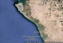 1292 ACRES WITH 1.19 MILES OCEANFRONT FOR SHRIMP FARM IN BAHIA DE KINO SONORA MEXICO,200 MILES FROM NOGALES ARIZONA