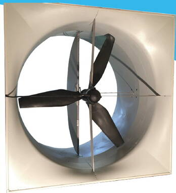 DACS MAGFAN 56 inch Tunnel fan for Poultry Houses and Hog Houses