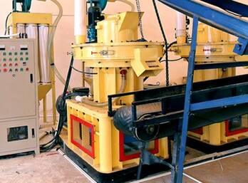 Structural Features of FTM Wood Pellet Mill