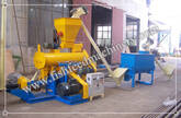 Fish Feed Production Line, Fish Feed Pellet Machine