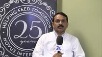 Ajay Bhoyar talks about feed cost reduction - Novus 25th Anniversary