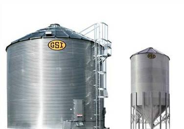 Silos tolva para almacenamiento de granos y alimentos balanceados