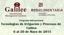 Tecnologías de Irrigación y Procesos de Cultivo