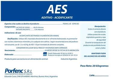 AES (Acidificante Electrolítico Sódico)