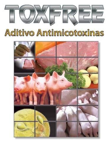 Toxfree, absorvente de micotoxinas para animais