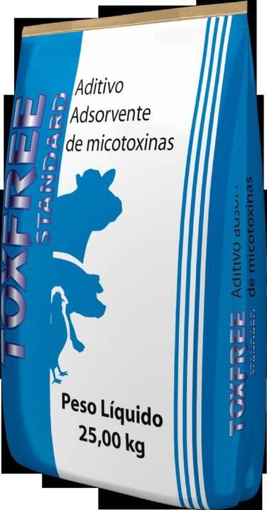 Toxfree Standard, aditivo antimicotoxinas para aves e suinos