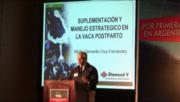 Vaca post-parto, Suplementación y manejo. Clemente Cruz Fernandez