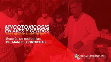 Necropsia en pollos, Dr. Manuel Contreras