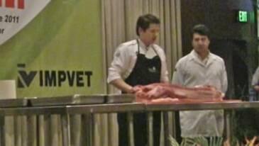 Cortes del cerdo: Juan Carlos Ordoñez en PorciAndina 2011