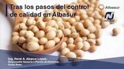 Control de calidad en planta de alimentos de Albasur,  René Abarca López (Grupo Nutec)