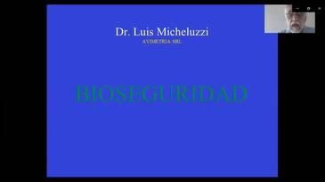 Bioseguridad en granjas avícolas: Luis Micheluzzi