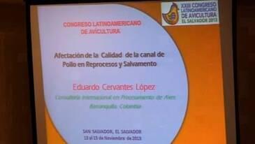 Calidad de la Canal de Pollo: Eduardo Cervantes Lopez