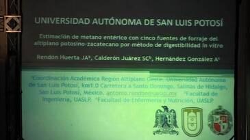 Metano entérico con cinco fuentes de forraje del altiplano potosino-zacatecano