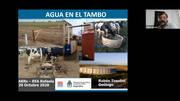 Agua en producciones lecheras