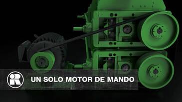 Molinos de rodillos quebradores: menor costo operativo con un solo motor de mando