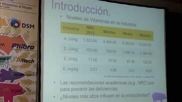 Dos niveles de vitaminas y la adición de 25OHD3 en dietas para cerdos