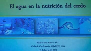 El agua en la nutrición del cerdo, Alvaro Rojo en AMVECAJ 2014