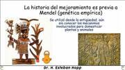 Mejora de cultivos: Desde la genética empírica al breeding 4.0.
