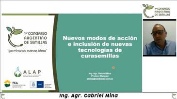 Nuevas tecnologías de curasemillas: Gabriel Mina