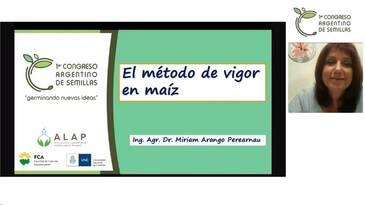 El método de vigor en maíz: Miriam Arango