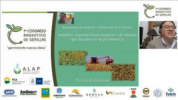 Resistencia de malezas a herbicidas: Enzo Bracamonte