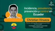 Salmonella: Christina Vinueza en ASPA 2020