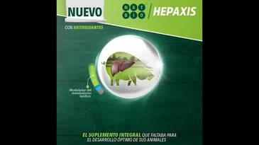 Hepaxis: Suplemento integral para el desarrollo óptimo de sus animales