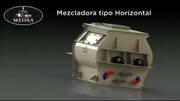 Mezcladora Horizontal Meosa