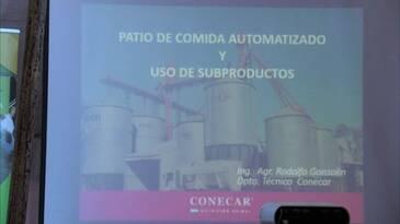 Jornada CAF en CONECAR - Patio de comida automatizado y uso de subproductos - Disertante: Rodolfo Gonsolin