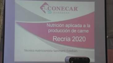 Jornada CAF en CONECAR: Nutrición aplicada a la producción de carne. Disertante: Sanmarti Esteban