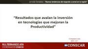 """Fernando Apa: """"Resultados que avalan la inversión en tecnologías que mejoran la productividad"""""""