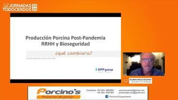 Intensificación porcina: Recursos humanos al servicio de la Bioseguridad