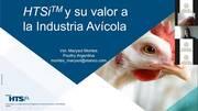 HTSi y su valor a la industria avícola, Marysol Montes (Argentina)