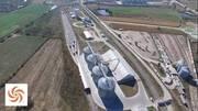Ferro-puerto:reciba a 1,200 t/h, almacenaje de 48,000 t maíz & 16,000 t pastas & harinas