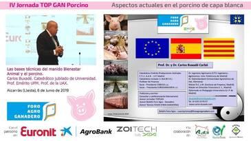 Bases técnicas del bienestar animal: Carlos Buxade
