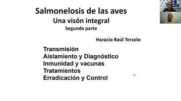 Salmonelosis de las aves: Horacio Terzolo