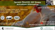 Avicultura alternativa: Experiencia en Argentina