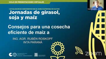 Cosecha eficiente de maíz: Rubén Roskopf