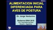 Alimentación inicial diferenciada en pollitas de postura
