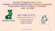 Programa de Sanidad en Plantas Incubadoras