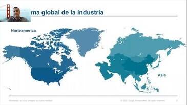 Panorama global de la industria. Estados Unidos y Asia