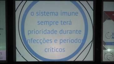 O sistema imune sempre terá prioridade durante infecçoes e períodos críticos.