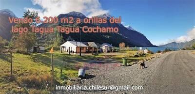 Vendo 6.200 m2 a orilla del Lago Tagua Tagua Cochamo