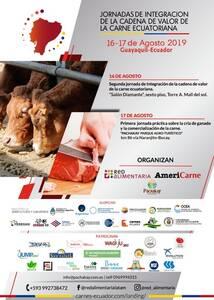 Segunda Jornada de Integración de la cadena de valor de la carne Ecuatoriana