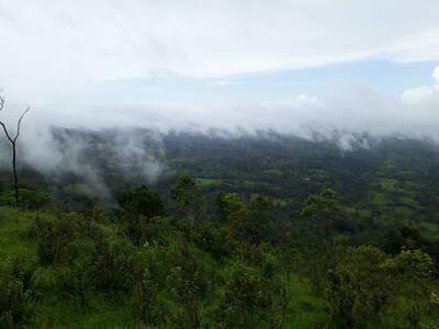 Cerro el Chamarro La Libertad Chontales, Nicaragua.