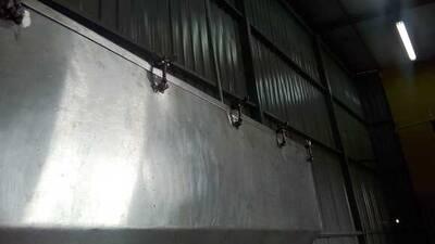 tanque de maquina de llenado por gravedad de aciete vegetal
