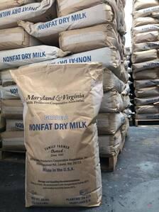 Venta de leche en polvo importada Maryland & Virginia
